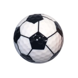 Soccer golf ball