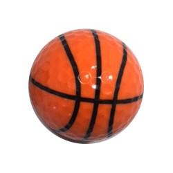 basket golf ball