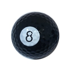 Pool golf ball