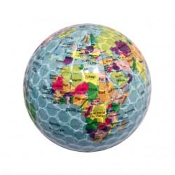 Bola de golf mapa mundi