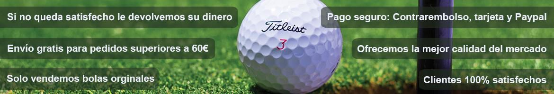 Comprar bolas de golf recuperadas